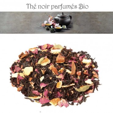 Orange-Cannelle Bio - Thé noir parfumé