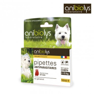 Pipettes Antiparasites Chats