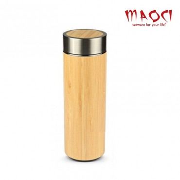 Thermos naturel en Bambou - 320 ml