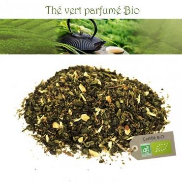 Menthe noisette Bio - Thé vert parfumé