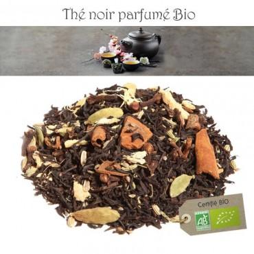 Thé chai Bio - Thé noir parfumé