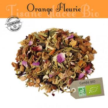 Orange fleurie - Tisane...