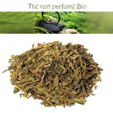 Earl Grey Bio Thé vert parfumé