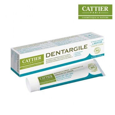 Dentifrice Dentargile Menthe bio