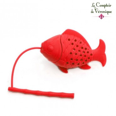 Infuseur Poisson rouge