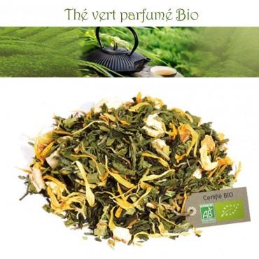 Parfum d'Asie Bio - Thé vert parfumé