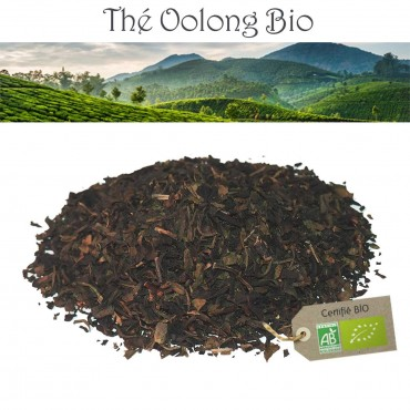 Oolong China Shui Xian Bio - Thé Oolong