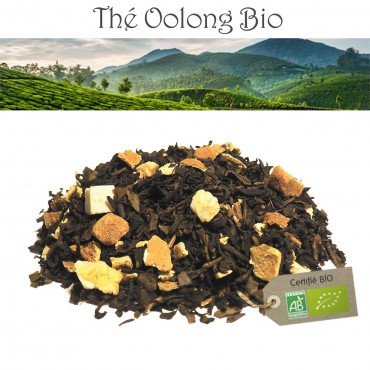 Oolong Orange fruitée - Thé Oolong