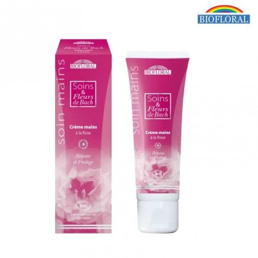 Crème mains Fleurs Bach et Rose