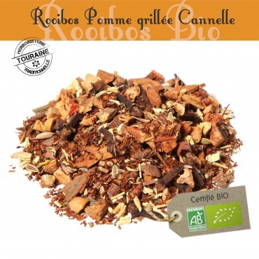 Pomme Grillée Cannelle Bio - Rooibos parfumé