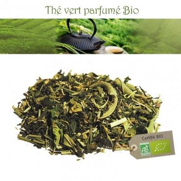 Thé des elfes bio - Thé vert parfumé Citron