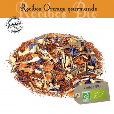 Orange Gourmande Bio - Rooibos parfumé