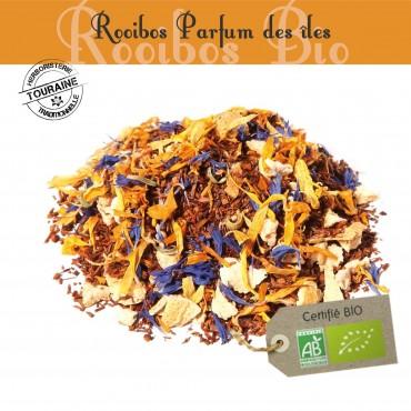 Parfum des îles Bio - Rooibos parfumé