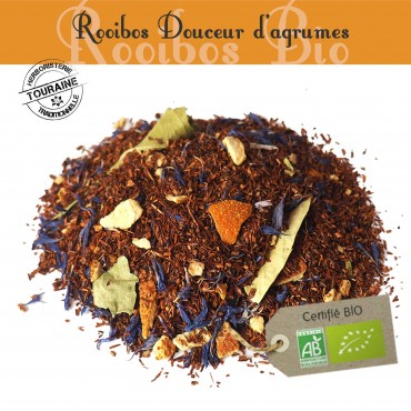 Douceur d'agrumes Bio - Rooibos parfumé