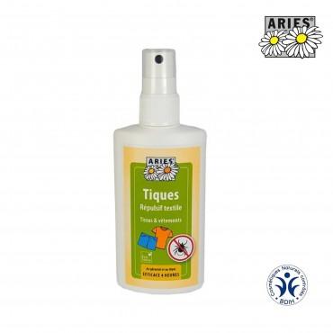 Spray anti-tiques répulsif textile
