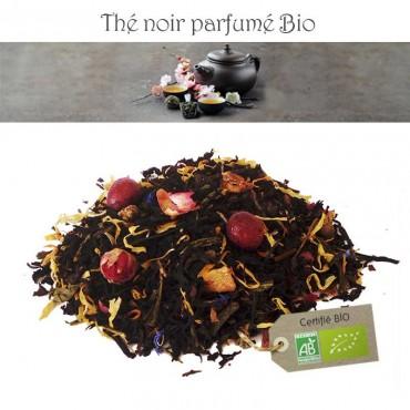 Mangue Papaye Bio - Thé noir parfumé
