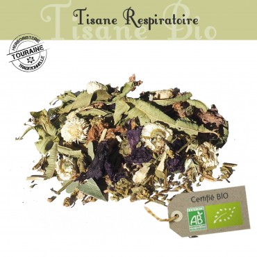 Tisane Respiratoire bio