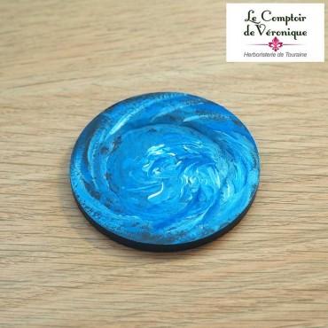 Coupelle repose sachet Bleu
