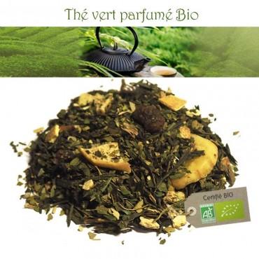 Plaisir Détox bio - Thé vert parfumé orange