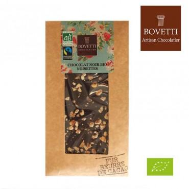 Chocolat noir & noisettes bio