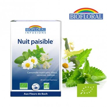 Infusion Nuit paisible bio