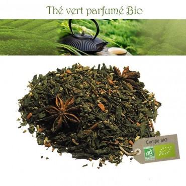 Thé des Samourais Bio - Thé vert basilic réglisse