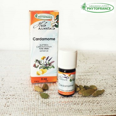 Cardamone Huile essentielle