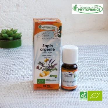 Sapin argenté huile essentielle bio