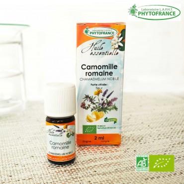 Camomille Noble/Romaine Bio Huile essentielle