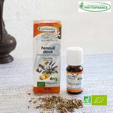 Fenouil huile essentielle Bio