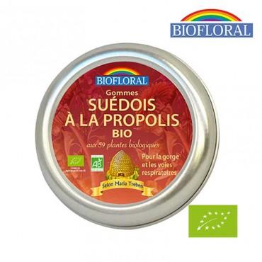 Gommes Suédois à la Propolis Bio aux 59 plantes biologiques