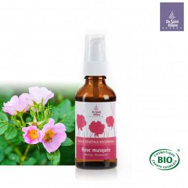 Huile végétale de rose musquée bio
