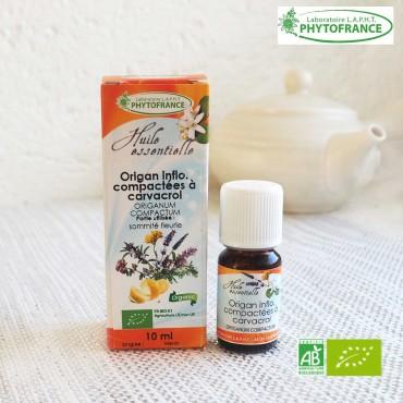 Origan compact huile essentielle bio