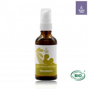Huile végétale de Macadamia bio