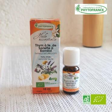 Thym à feuilles de sarriette huile essentielle Bio