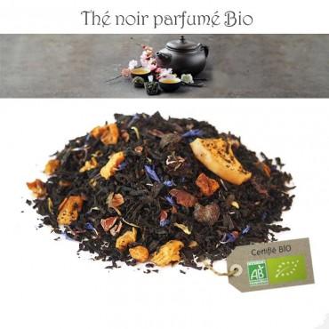 Poire-chocolat Bio - Thé noir parfumé