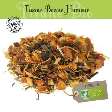 Tisane Bonne Humeur Bio -  orange pamplemousse