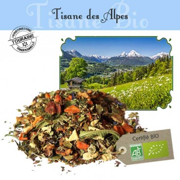 Tisane des alpes Bio - Orange