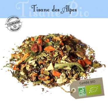 Tisane des alpes Bio - Orange