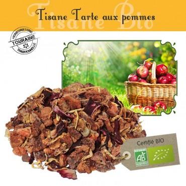 Tisane Tarte aux pommes bio - pommes - pistache