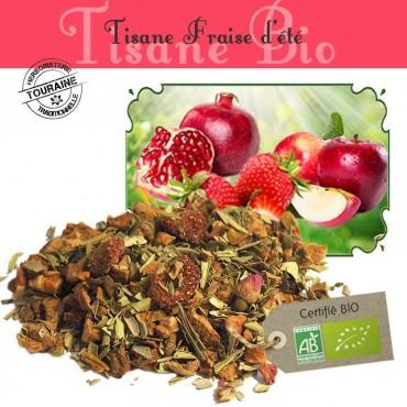 Tisane Fraise d'été - fraise fruitée