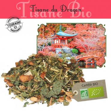 Tisane du Dragon Bio - Citron gingembre