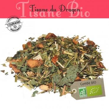 Tisane du Dragon Bio - Citron gingembre