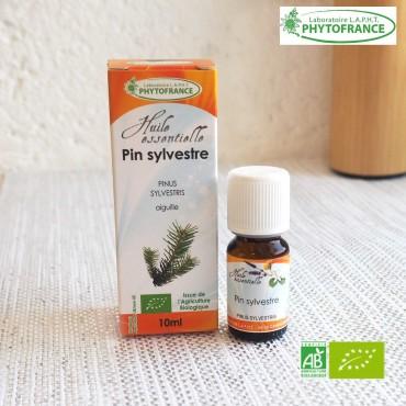 Pin sylvestre huile essentielle Bio