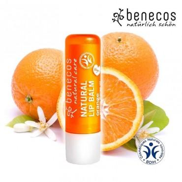 Baume à lèvres orange bio