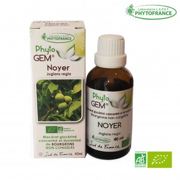 Macérat de bourgeons de Noyer bio - 40 ml