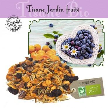 Tisane Jardin Fruité bio - Myrtille mirabelle