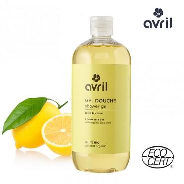 Gel douche Zeste de citron bio