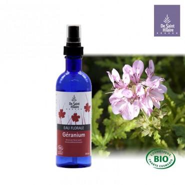 Eau florale de Géranium bio