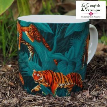 Mug Tigre en porcelaine
